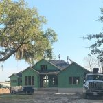 House under construction in Florida